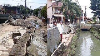 Khawatir Rumahnya Terendam Banjir, Warga Harap Tanggul Kali Cakung Segera Diperbaiki