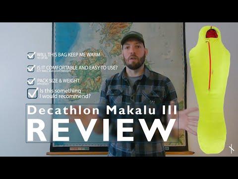 REVIEW: Decathlon Makalu III down sleeping bag