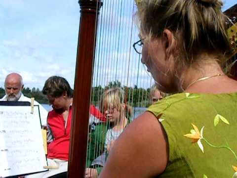 Ouderenbonden Dronten openen het seizoen met harpiste Martine Dubois