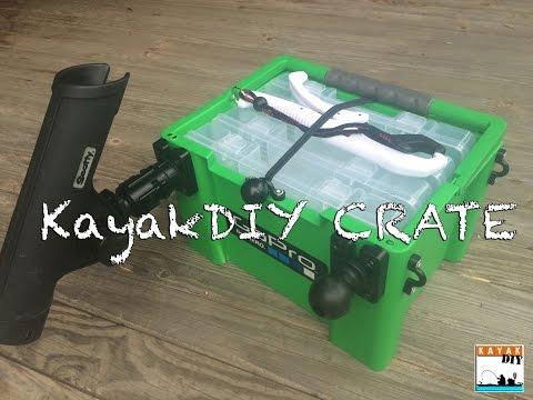 The Ultimate DIY Kayak Fishing Crate by KayakDIY