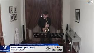 Vasco AVENÇA plays Sonata by J. Rueff #adolphesax