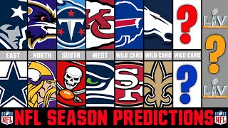 NFL Season Predictions 2020 (NFL Playoff & Super Bowl Predictions 2020)