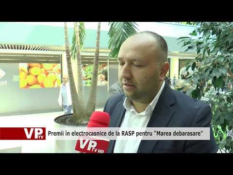 """Premii în electrocasnice de la RASP pentru """"Marea debarasare"""""""