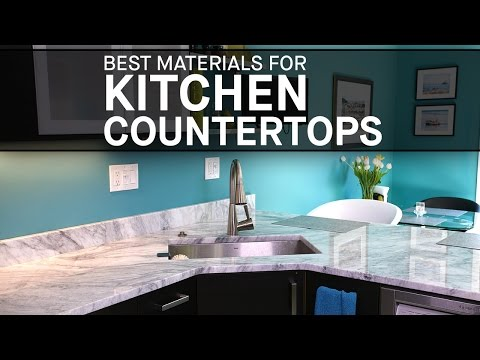 Best Materials For Kitchen Countertops | Marble.com