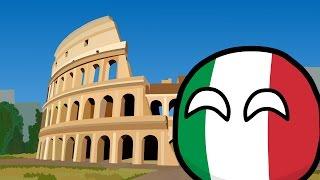 COUNTRYBALLS №17 | Путешествие Италии