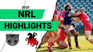 Warriors v Dragons Match Highlights | Round 3 2020 | Telstra Premiership | NRL