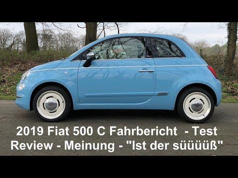 2019 Fiat 500C Spiaggina Fahrbericht Test Review Kritik Meinung KEIN EINKLEMMSCHUTZ! Voice over Cars