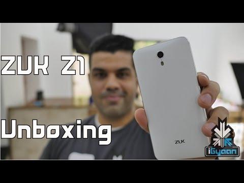 Zuk Z1 Unboxing