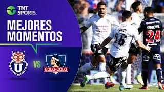 Universidad de Chile 1 - 3 Colo Colo   Campeonato PlanVital 2021 - FECHA 22