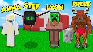 Minecraft ITA - PROVA A NON RIDERE CON QUESTI MOSTRI! - W/Lyon