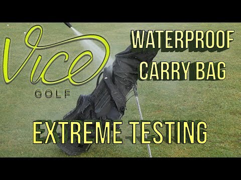 Vice Waterproof Golf Bag Review: Extreme Test