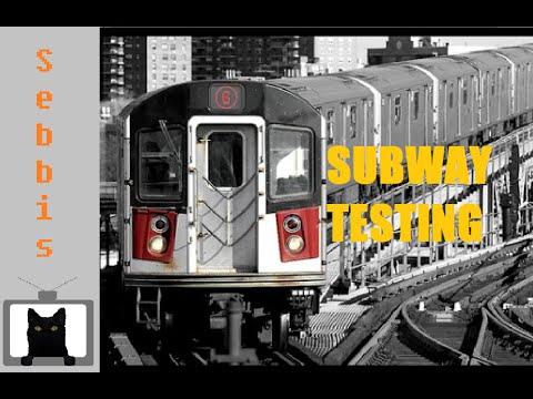 Subway testing roblox custom map -new york trains-