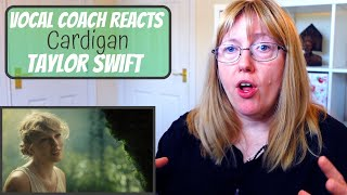 Vocal Coach Reacts to Taylor Swift 'Cardigan'