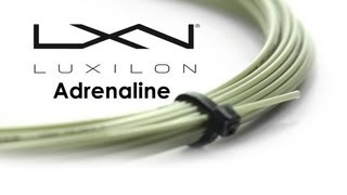 Luxilon Adrenaline String (12m) video