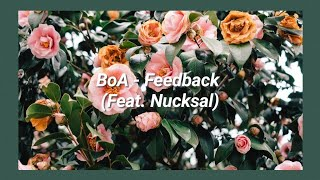 BoA   Feedback (Feat. Nucksal) (Easy Lyrics)