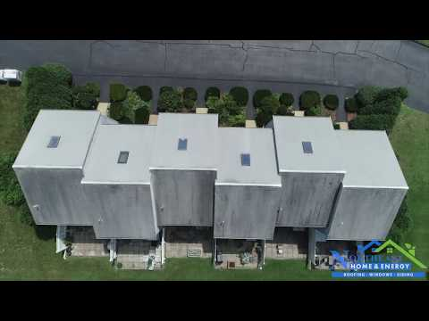 Check out our drone video of a roofing, windows, siding, and skylights job we completed this Spring. Let us know what you think!