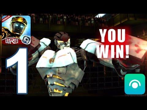 Real Steel World Robot Boxing - Gameplay Walkthrough Part 1 - Underworld 1: Championship 1-3