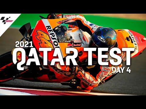 MotoGP 2021カタールテスト 4日目のハイライト動画