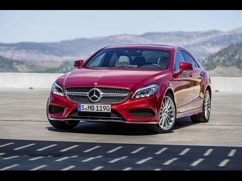 Mercedes-Benz 2015 CLS Coupé And CLS Shooting Brake Trailer