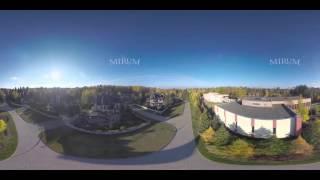 Панорамное видео 360 градусов – виртуальный тур по посёлку Довиль