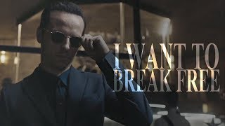 Jim Moriarty // I Want To Break Free