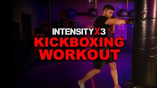INTENSE Kickboxing Workout with Damian!