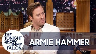 Armie Hammer Voices the Audio Book for Call Me by Your Name