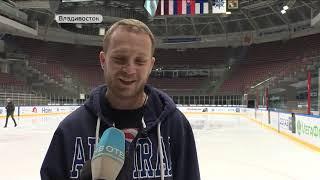 Приморская команда по следж-хоккею провела первую тренировку