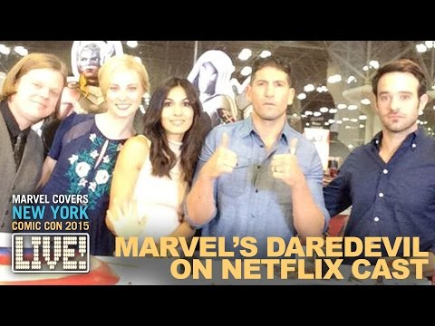Download The Cast of Marvel's Daredevil drop by Marvel LIVE! Mp4 HD Video and MP3