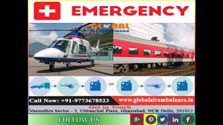 Global Air Ambulance Services in Allahabad with and therapeutic provision
