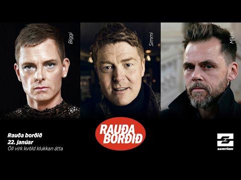 Rauða borðið á bóndadegi