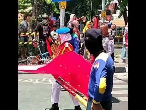 Parade hari pahlawan 10 November surabaya 2018 part 6