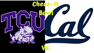 College Football 2018|Full Game TCU vs Cal Cheez- It Bowl 2018