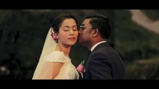 Church Wedding - Wedding Montage | John Waller - The Marriage Prayer | Puvan & Purani