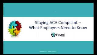 Staying ACA Compliant - What Employers Need to Know