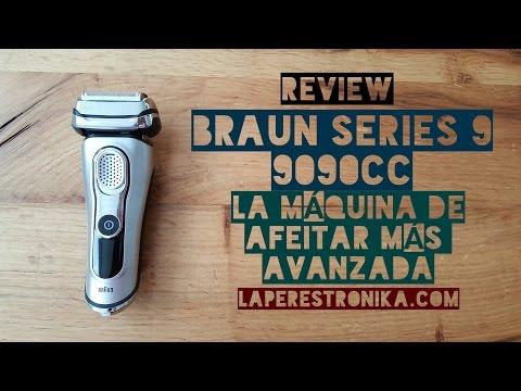 Review Braun Serie 9 9090cc. La máquina de afeitar más avanzada y eficiente