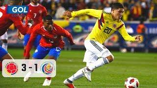 Colombia Vs Costa Rica (3-1), Vea El Resumen Del Partido Jugado En El Red Bull Arena