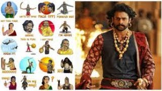 Baahubali 2 becomes the first to have its own Facebook stickers