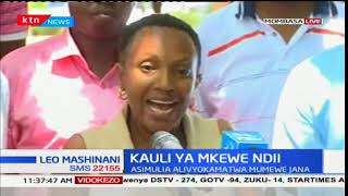 David Ndii's wife recounts events that unfolded at Diani Hotel