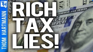 Rich Tell IRS One Lie & Shareholders Another
