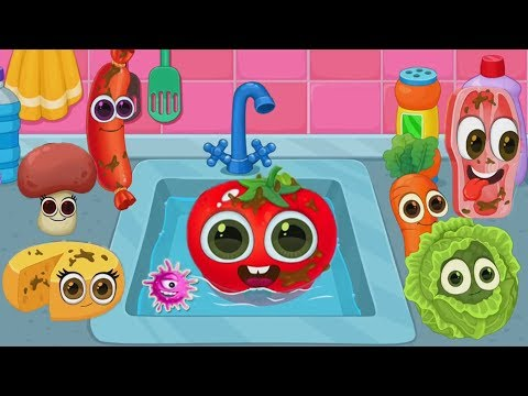 Play Fun Kitchen Cooking Games - Play and Learn Making Funny Foods Gameplay