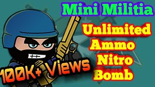 Mini Militia Mod Apk Unlimited Ammo And Nitro मफत
