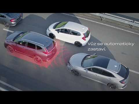 Honda SENSING - inteligentní adaptivní tempomat a asistent pro jízdu v kolonách