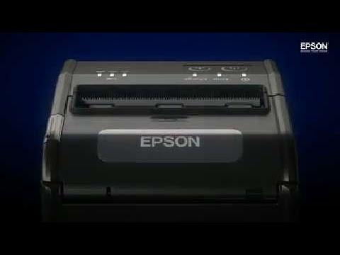Epson  Prentari TM-P80 USB-bluetooth-Myndband