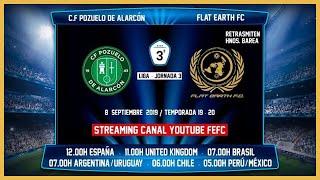 R.F.F.M. - Jornada 3 - Tercera División Nacional (Grupo 7): C.F. Pozuelo de Alarcón 2-1 Flat Earth F.C.