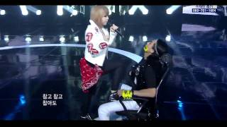 2NE1 - Hate You  ComeBack Stage
