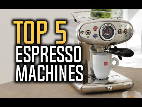 Best Espresso Machines in 2018 – Which Is The Best Espresso Maker?