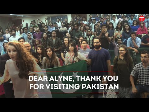 Dear Alyne, thank you for visiting Pakistan