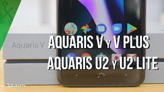Primeras impresiones bq Aquaris V, V Plus, U2 y U2 Lite