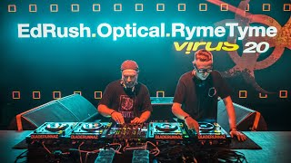 Ed Rush & Optical feat MC Ryme Tyme @ Virus 20 Budapest by Bladerunnaz